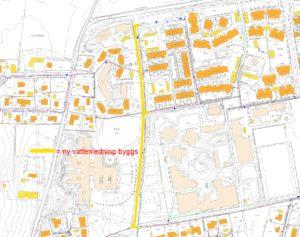 VA-karta Pölagårdsvägen