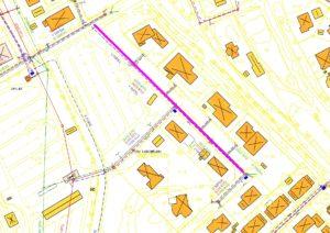 VA-karta Sörviksvägen